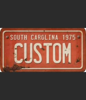 South Carolina License Plate Custom