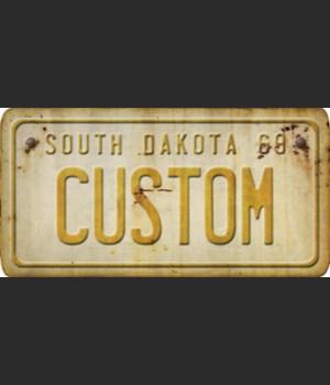 South Dakota License Plate Custom