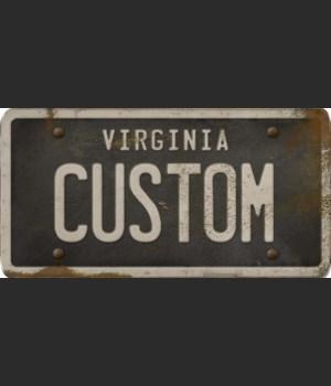 Virginia License Plate Custom