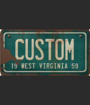 West Virginia License Plate Custom