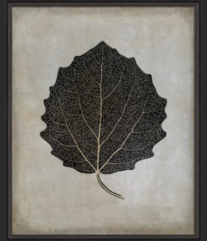BC Aspen Leaf b/w lg