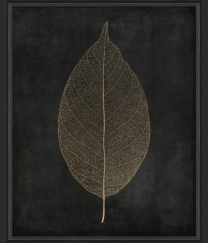 BC Leaf No3 gold on black lg