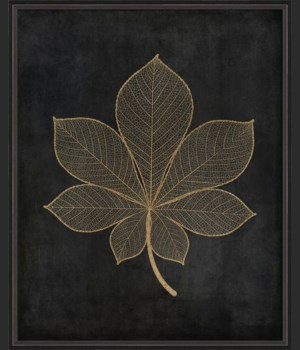 BC Leaf No4 gold on black lg