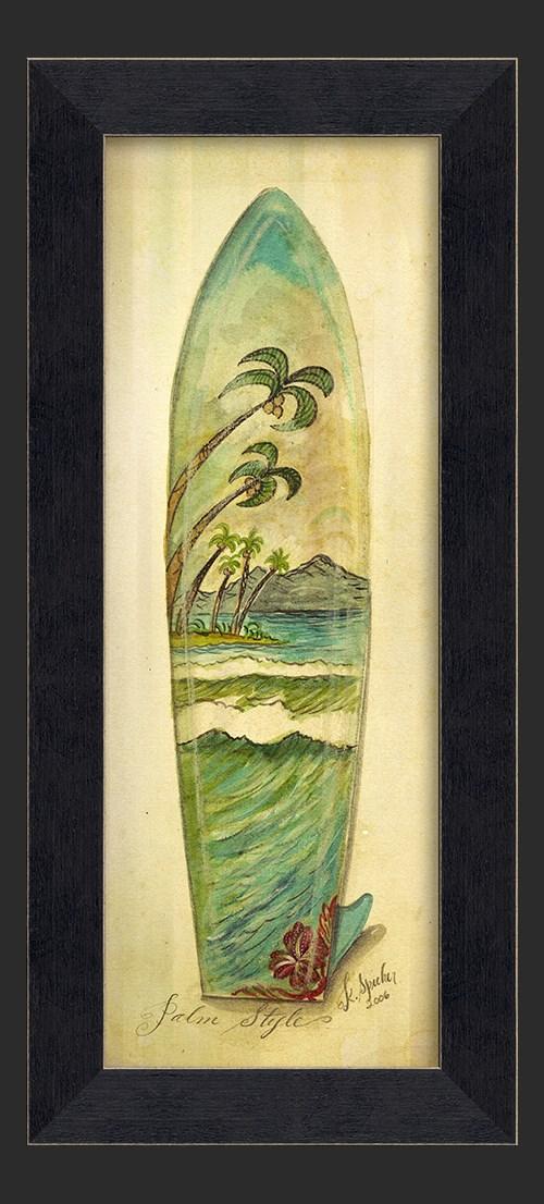 MI Palm Surfboard