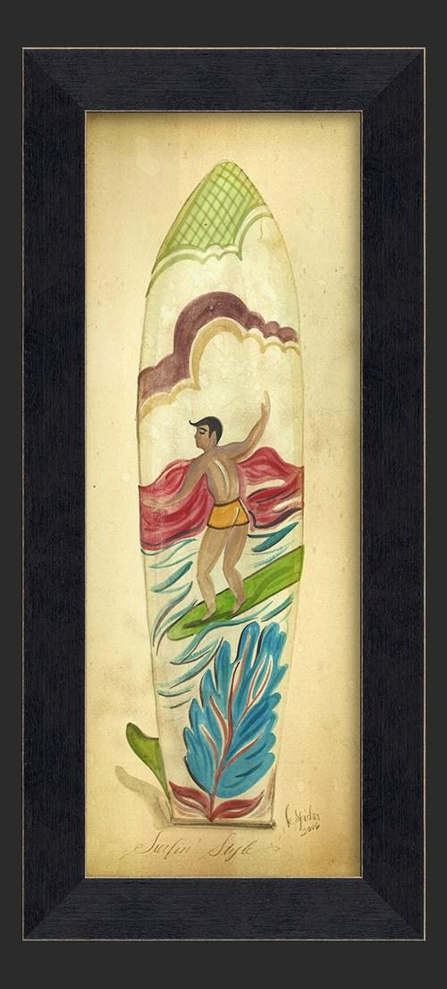 MI Surfin Surfboard