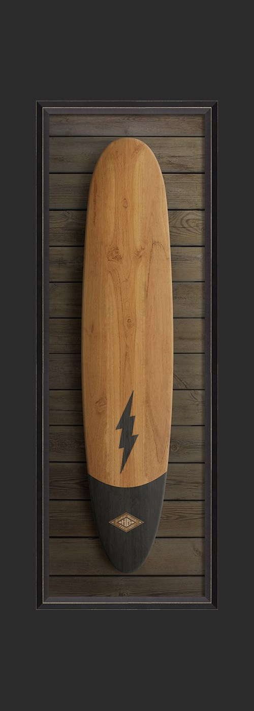 BC Shockwave Surfboard lg