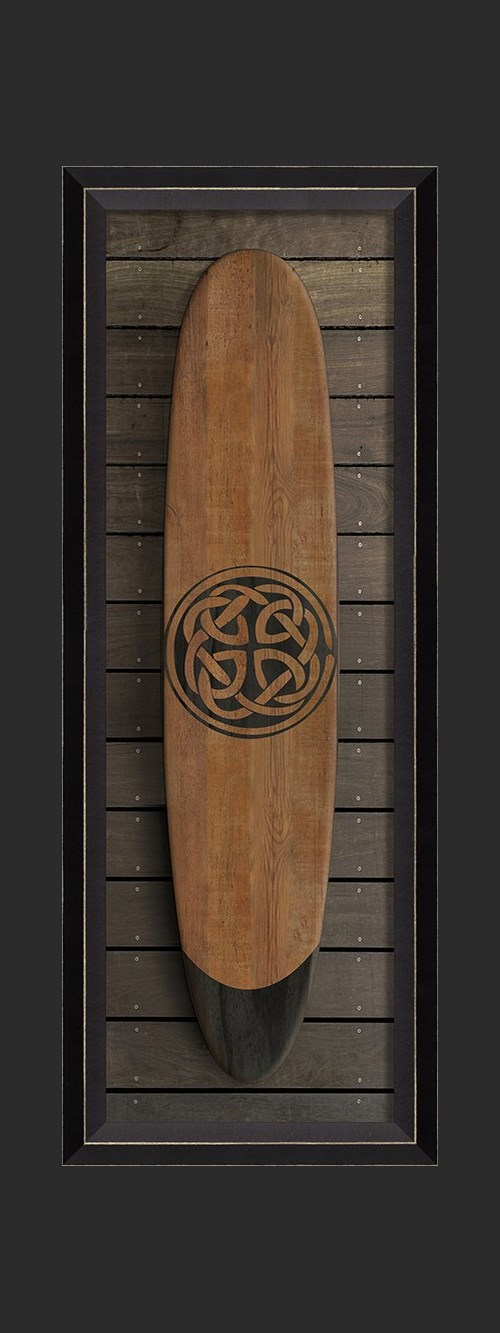 BC Celtic Knot Surfboard sm