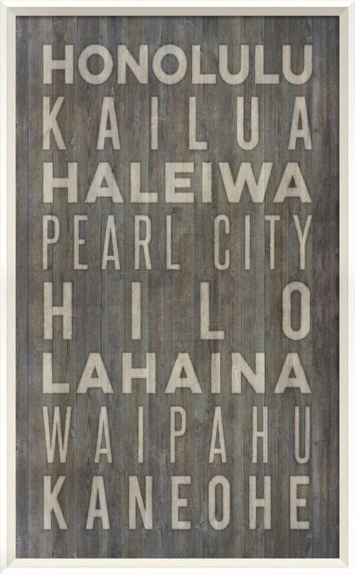 WC Hawaii Beach Cities on gray