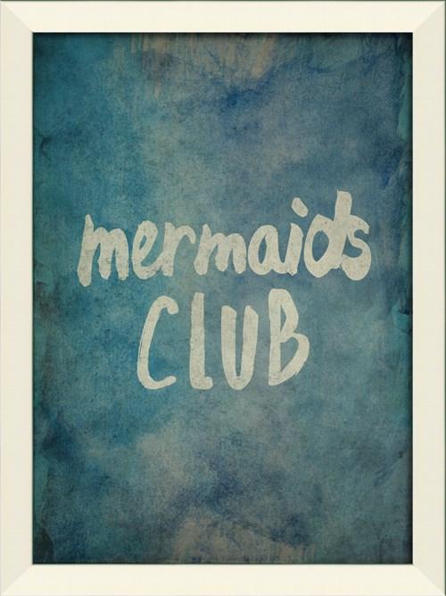 LN Mermaids Club on blue sm