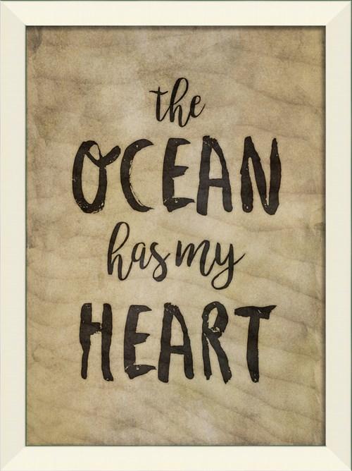 LN The Ocean has my Heart on sand sm