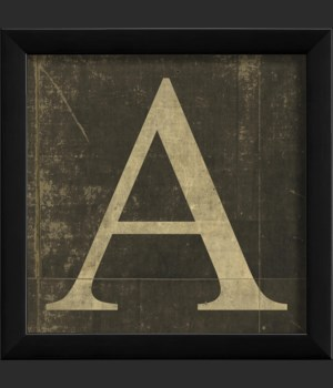 EB Letter A - small