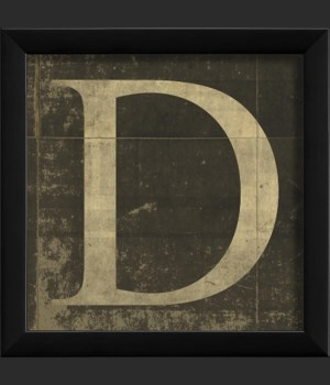 EB Letter D - small