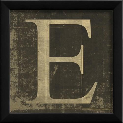 EB Letter E - small