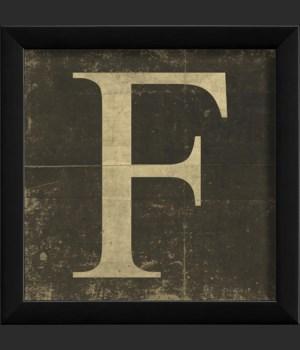 EB Letter F - small