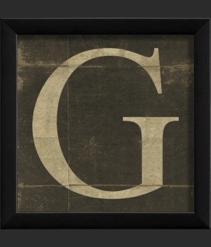 EB Letter G - small