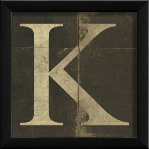 EB Letter K - small
