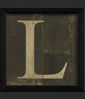 EB Letter L - small