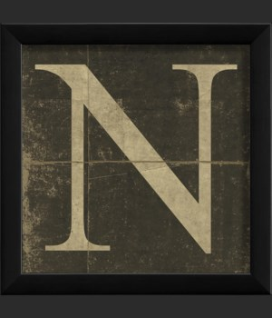 EB Letter N - small