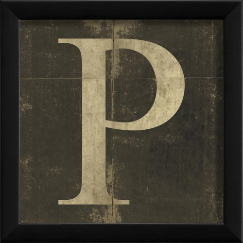 EB Letter P - small
