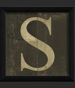 EB Letter S - small