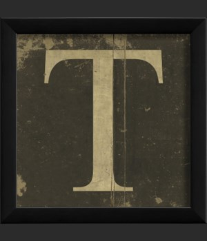 EB Letter T - small