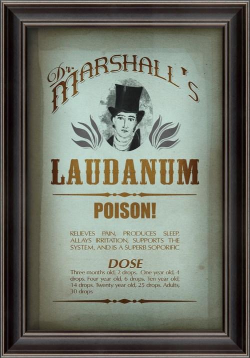 LS Dr. Marshall's Laudanum