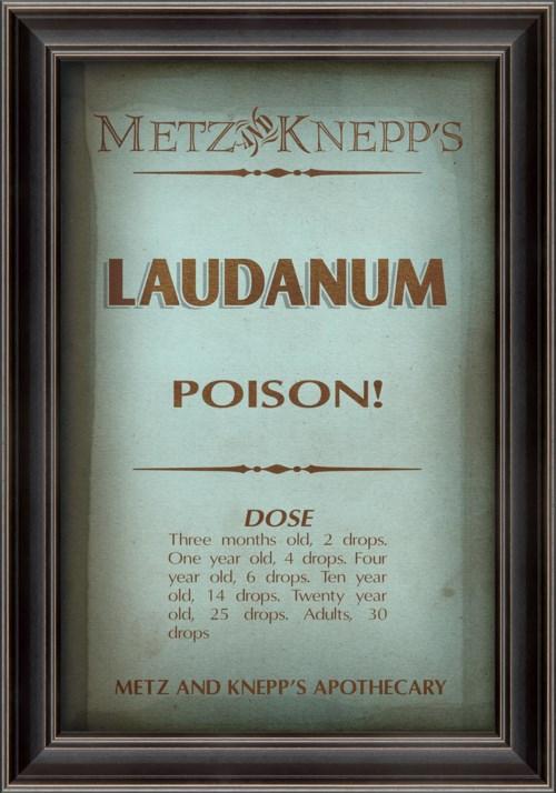 LS Metz and Knepp's Laudanum