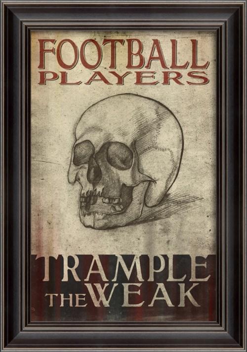 LS Football Players Trample the Weak