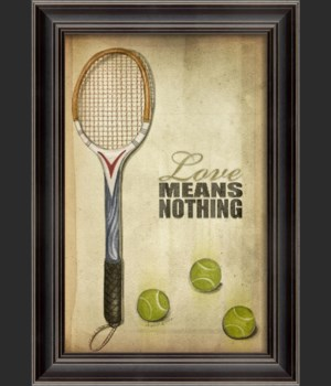 LH Tennis Love Means Nothing Poster