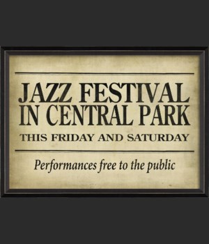 BC Jazz Festival in Central Park