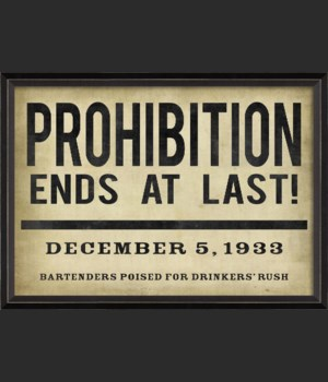 BC Prohibition Ends at Last