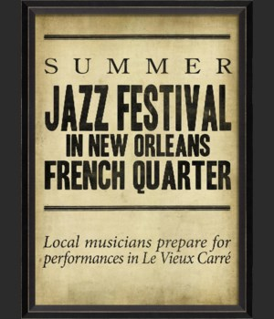 BC Summer Jazz Festival in French Quarter