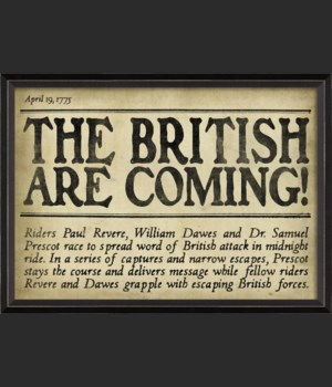 BC The British are Coming