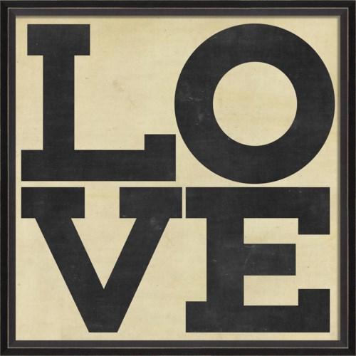 BC LOVE black on white