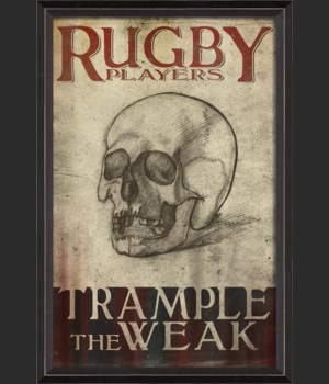BC Rugby Players Trample the Weak