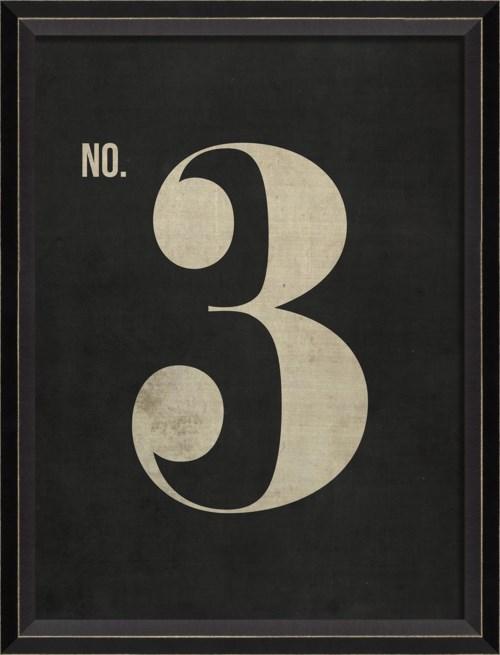BC Number 3 on Black sm