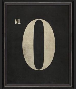 BC Number 0 on Black sm