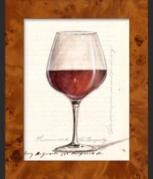 NA Burgundy Wine Glass