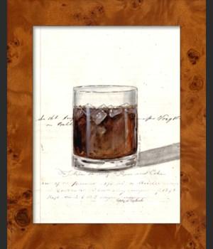 NA Rum & Coke Wine Glass
