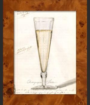 NA Champagne Wine Glass