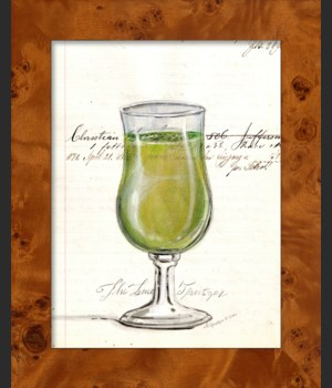 SH Lime Spritzer Wine Glass