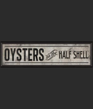 BC Oysters on the Half Shell