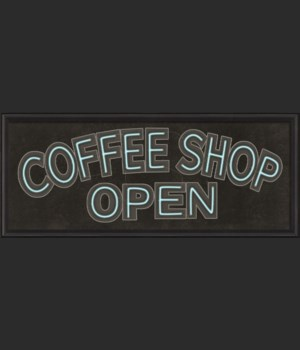 BCBL Coffee Shop Open Sign 24x60