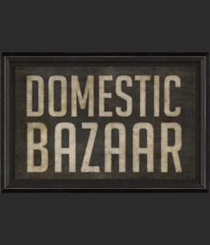 BC Domestic Bazaar sign