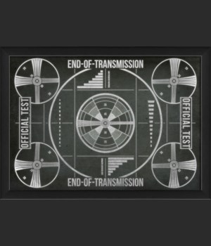 EB TV End of Transmission on black sm