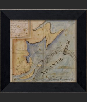 MI Whaler's Map