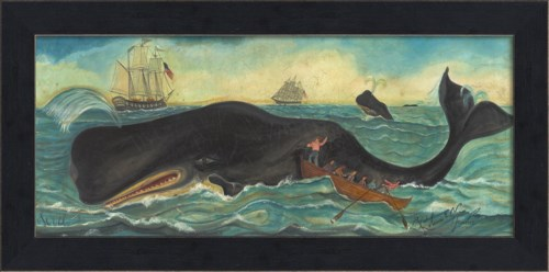 MI Whalers Whales and Ships