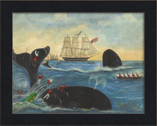 MI Nantucket Ship Whalers