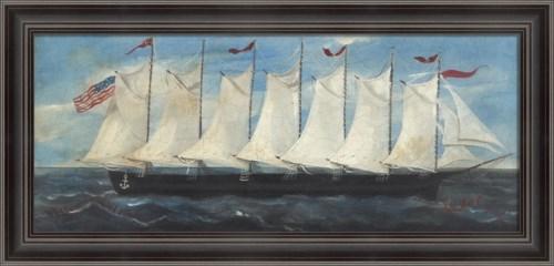 LS My Seven Masted Schooner