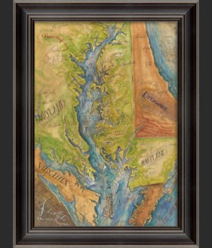 LS The Great Chesapeake Map